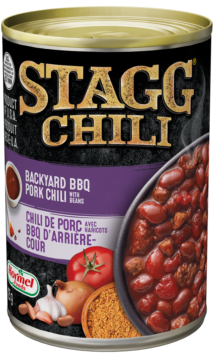 Stagg Chili Backyard Pork Chili with Beans