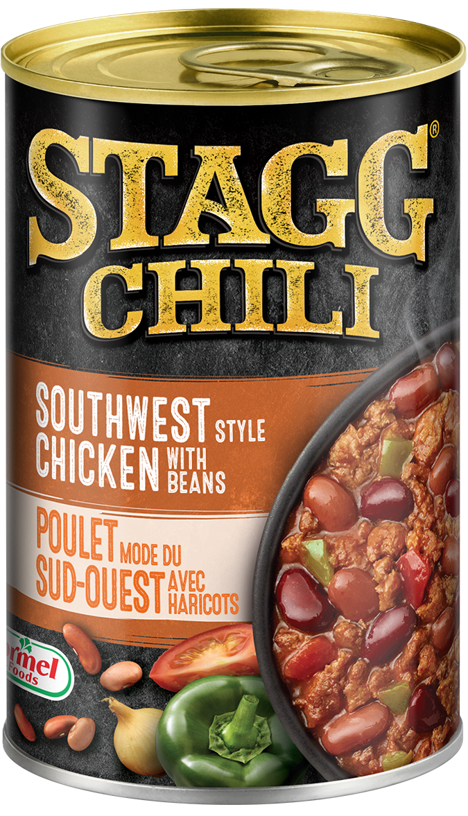 Stagg Chili Southwest Style Chicken with Beans